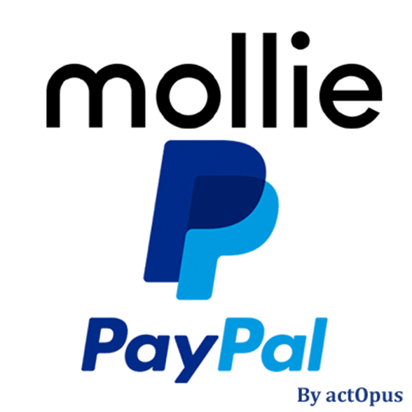 Picture of Mollie-compatible PayPal payment plug-in for nopCommerce